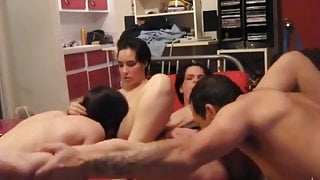 Exclusive French Canadian Swingers part 2