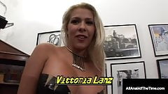 Anal Gaped Good Girl Victoria Lanz Is Ass Packed & Cummed In