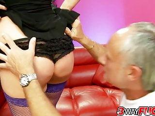 Western pleasure winning ways 3 way fuck - horny brunette olga cabaeva pleasures two men