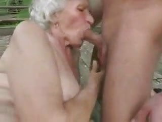 Public amateur granny Fucking his granny by snahbrandy