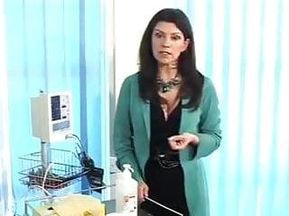 Nurse penis injection Infermiera esame cazzo penis nurse test