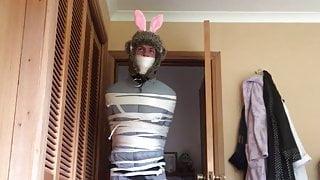 Bondage bunny vibrated