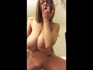 Babe Having Round Boobs Rubbing Roughly Along with Cunt