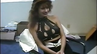 Woman auditions to be in porn