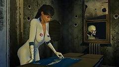 Alien fucks scientists woman