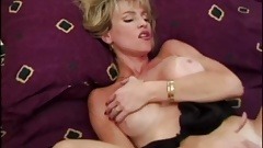 ED POWERS - Gorgeous Blonde Touches Herself