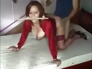Homemade wife bondage Dominating the wife