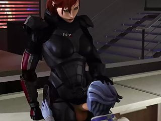 Commander shepard fucks tali - After hours at shepards apartment