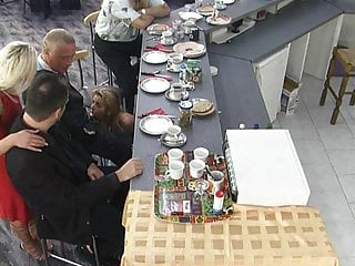 Family big orgies German family meeting: abendbrot