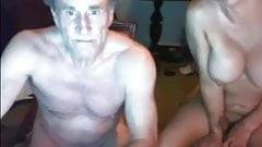 grandpa with her slut
