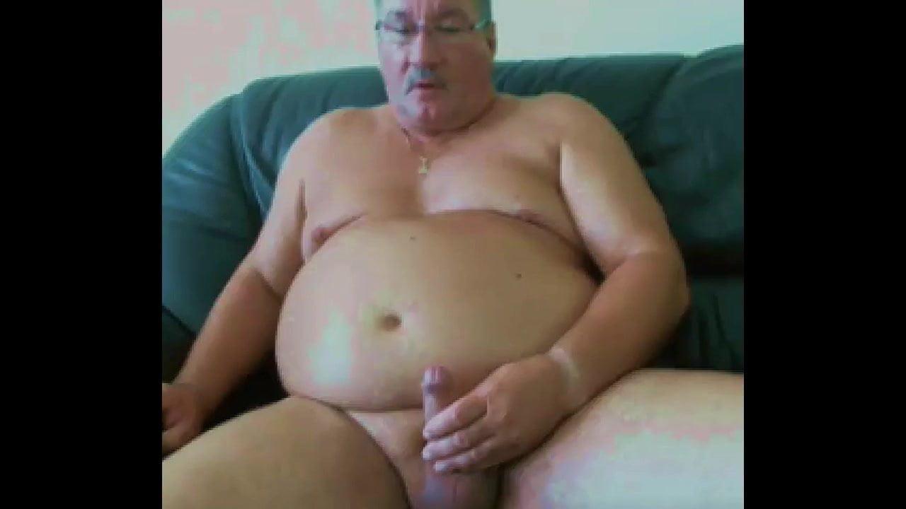 Andaluz Porno Gay really sexy daddy stroke and cum on cam