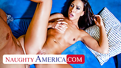 Naughty America - Tiffany Brookes gets pumped for school