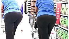 Candid Big Ass Bubble Butt Booty : Gilf & Milf