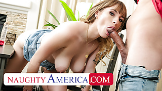 Naughty America - Angel Youngs fucks friend's man for money
