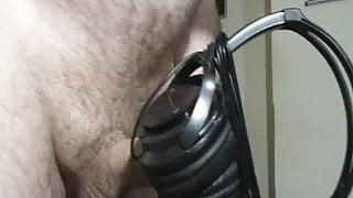 JVC headphone wank and cum.