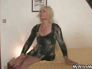 Sex mother in law pics Great scandal after sex with mother in law