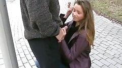 Sexy Girl Suck in Public