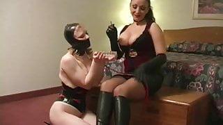Lesbian Slave Devoted To Smoking Mistress Jewell