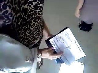 Tyra banks show upskirt Upskirt in bank