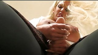 Alura Grows a Cock and Ejaculates Ropes of Sperm