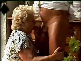 Chubby oldy grans - This bbw gran enjoys a good romp with an older guy