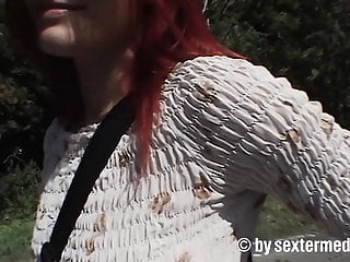 Videos sex outdoor redheads - Parking sex with hitchhiker teen kerstin