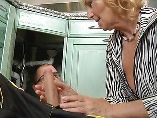 Members mark mature multi vitamin Mature housewife regi sucks a strong member of a plumber