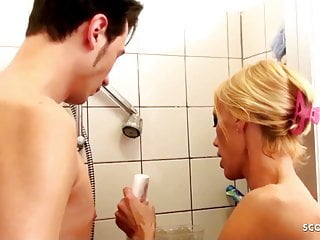 Hot boys teen cocks Hot german step mom seduce young boy son to fuck in shower