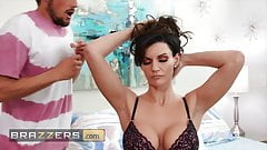 Sexy MILF Becky Bandini enjoys a nice massage a hard fuck
