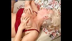 Granny Norma - mature granny with younger guy
