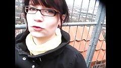 Mit meinem Cousin auf dem Lueneburger Wasserturm
