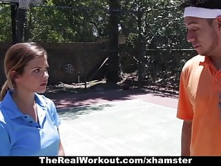 Tenni cum - Therealworkout - keisha grey pounded after playing tennis