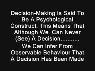Teens decision making - Decisions