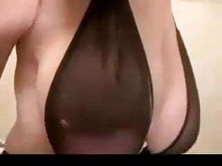 One breast showing - Webcam girl shows us the best of breast