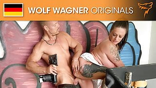 MILF Adrienne gets banged and cum-covered! Wolfwagner.com