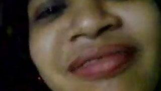 Bangladeshi girlfriend boyfriend at friends home