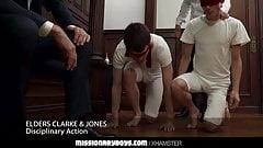 Mormonboyz - папа священника трахает дилдо два паренька тугими дырками