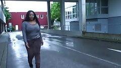 black ass matters - brown leopard jeans and high heels 1