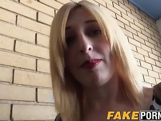 Flat breast blonde Blonde chick jessica gets fucked by a cop in her flat