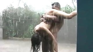 INDIAN 69 IN THE RAIN