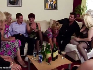 Japanese moms and sons sex - Insane private party with mature moms and sons