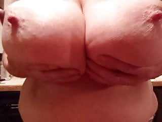 Certified natural boob - Funbags saggy huge natural boob drop sexy big nipples