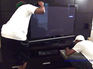 Virgin cherry broke - My tv is broke - milf interracial threesome