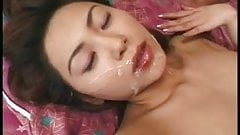 Cumpilation of hot Japanese chics getting weeded