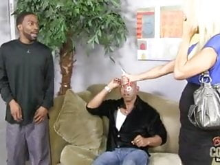 Erica ellyson fucks two guys Two blacks fuck perfect white granny erica