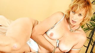 Mature Mom Having A Taste Of Her Stepson's Cock