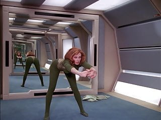 Nude star trek voyager Marina sirtis, gates mcfadden -star trek the next generation
