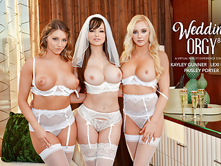 Naughty America - Lexi Luna's wedding turns into a fuck fest