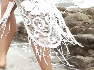 Teen beauty blonde naked Amazing blonde beauty naked on the beach