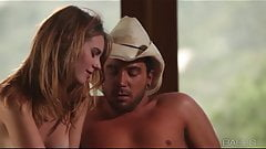 Babes - Jonni Hennessy rides like a cowgirl